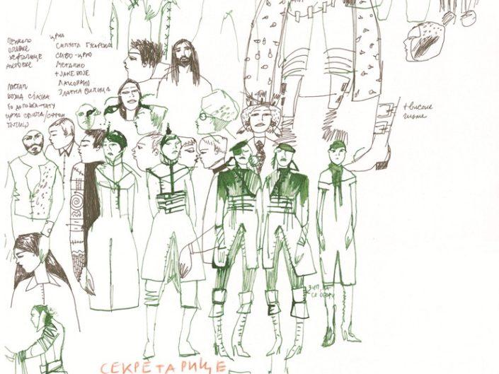 PETER PAN / drawings
