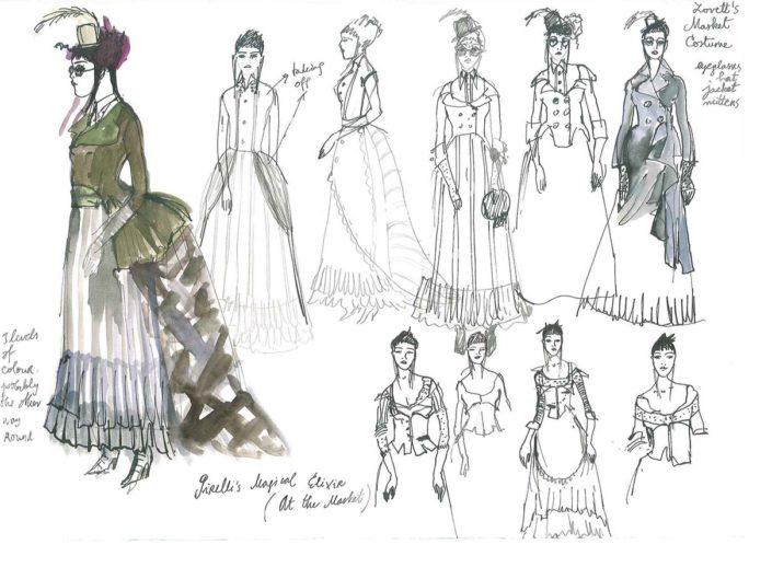 Sweeney Todd / drawings